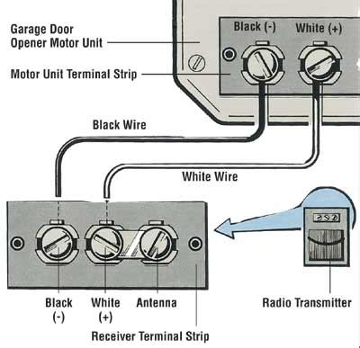 garage door sensor wiring diagram wiring diagram and