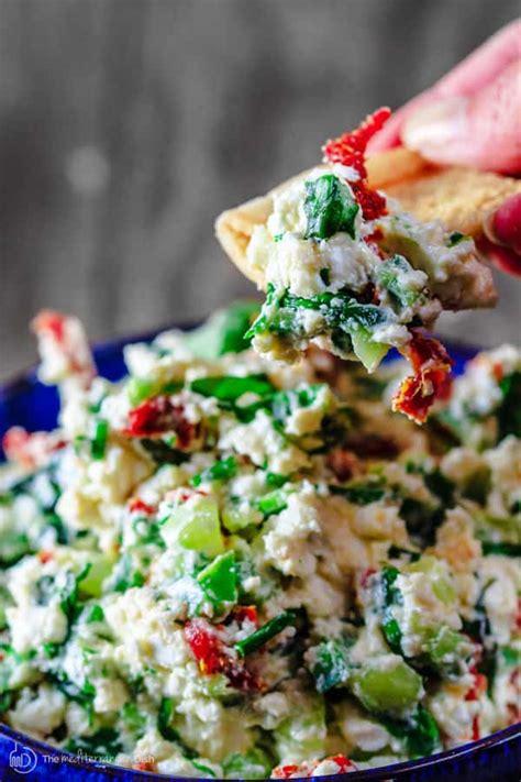 minute mediterranean feta cheese dip
