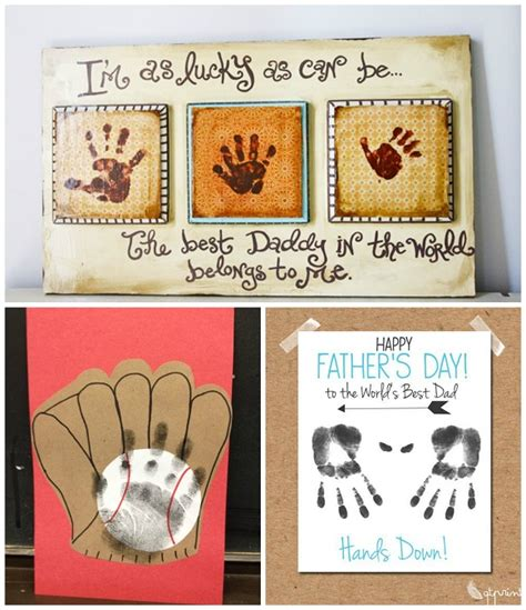 fathers day ideas s day handprint gift ideas from crafty morning