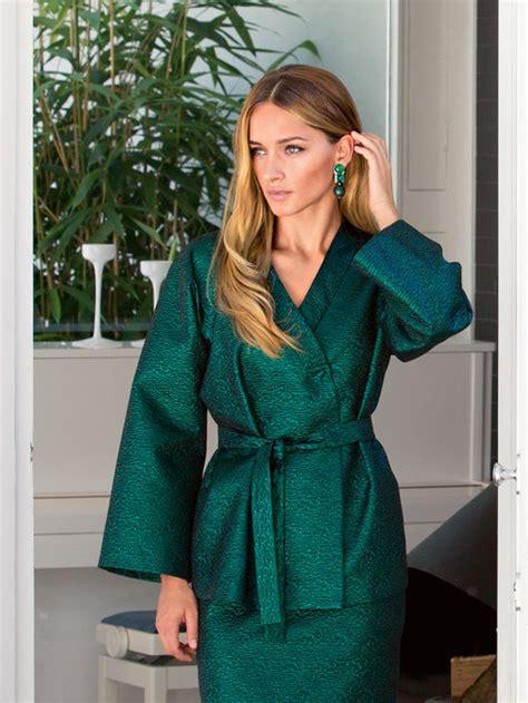 pattern for kimono style jacket kimono jacket 12 2013 116a sewing patterns burdastyle com