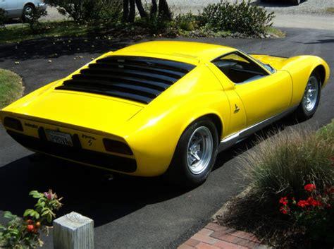 1969 Lamborghini Miura For Sale Classic Italian Cars For Sale 187 Archive 187 1969