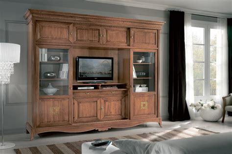 mobili soggiorno classici legno mobili per soggiorno in legno massello design casa