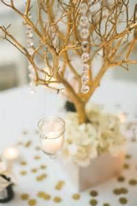 gold branch centerpieces gold manzanita branch centerpieces tradesy weddings