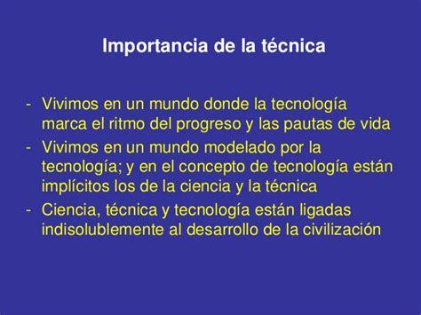 la ciencia la t 233 cnica y la tecnolog 237 a