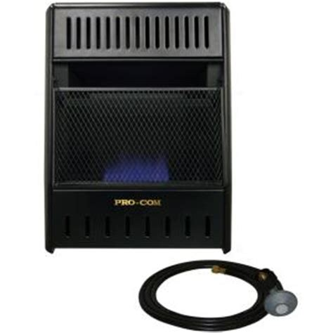 procom 14 in vent free propane heater ml100tbahr the
