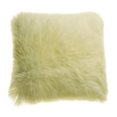 Sheep Skin Pillow by Auskin Longwool Sheepskin Pillow 18 Square Save 50