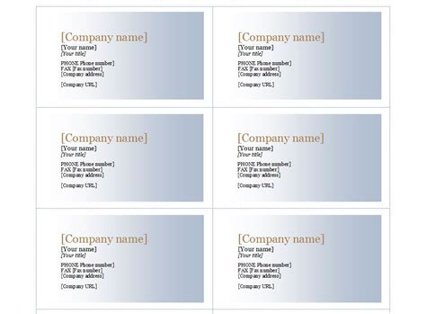 compatible with avery business card template 5371 free