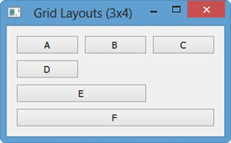 qt5 layout widget qt5 tutorial grid layout 2018