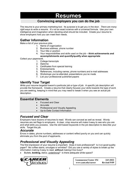 Resume Template For For Kfc Resume Exle Exles Of Resumes Kfc Team Member Duties And