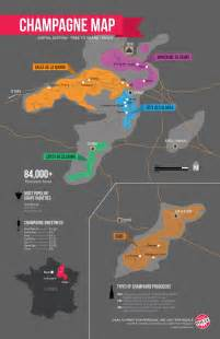 chagne map infographic wine folly