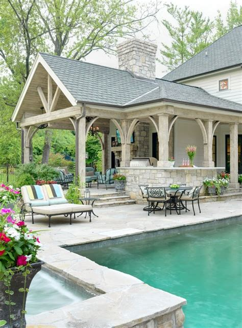 outdoor living room traditional patio st louis by