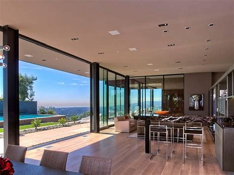 los angeles style homes interior design styles and color contemporary home in california showcases indulgence with