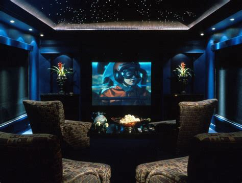 home theater modern home theater orlando   evans group