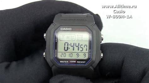 Casio Standard W 800h 1av casio w 800h 1a