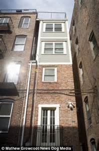 skinny house boston boston s skinniest house built out of spite and sibling