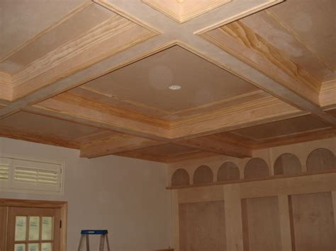 Lu Ceiling Wooden Style Diy Coffered Ceiling All Furniture