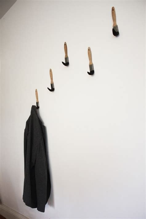 fun coat hooks fun original and practical paint brush coat hooks by