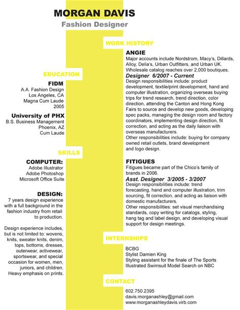 clever and two column resume design resume