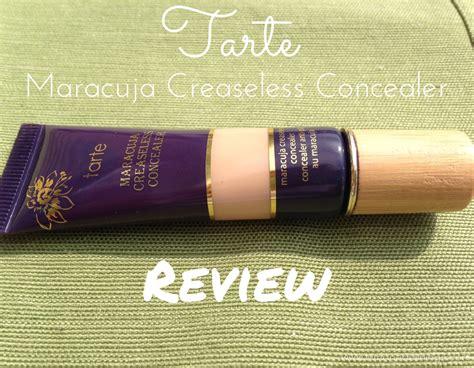 tarte maracuja creaseless concealer light medium sand tarte maracuja creaseless concealer review lemonade linings