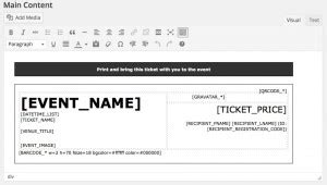 ee4 printable tickets add on ee4 printable tickets add on event espresso wordpress