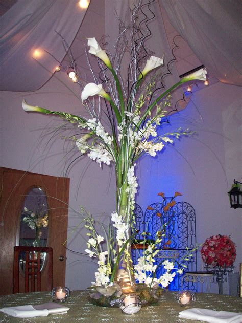 wedding centerpieces with calla lilies bouquet bridal calla centerpieces