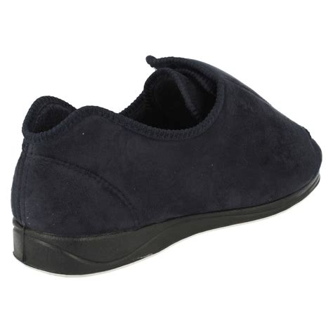 mens slippers wide mens padders wide fit slippers ebay