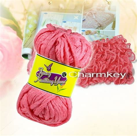 fancy yarns for knitting fancy knitting pom pom yarn in shanghai shanghai