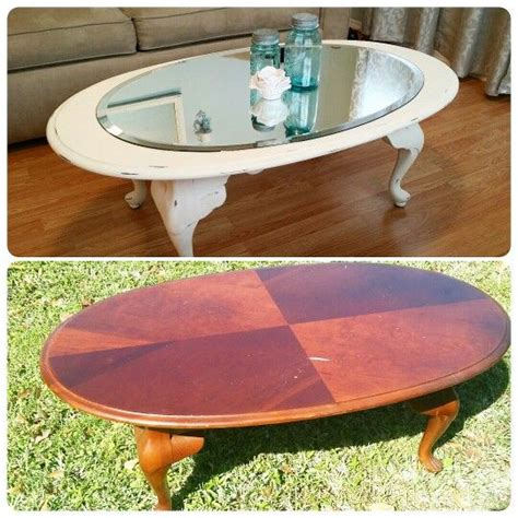 diy chalk paint coffee table before and after coffee table using sloan chalk