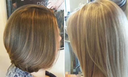 full vs half highlights hair cut colour package grabone