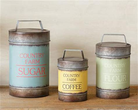country kitchen canisters sets 28 images canisters for rustic decor 3pc canister set sugar flour coffee country