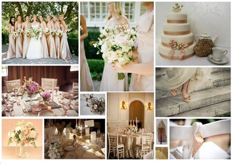colour themes with white colors chagne and ivory wedding preparations