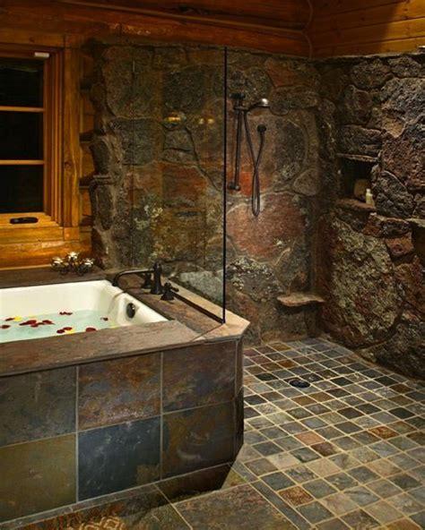 Stone Earth Bathrooms Best 20 Stone Shower Ideas On Pinterest