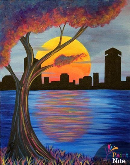 paint nite boston newbury top 25 ideas about paint nite sles on