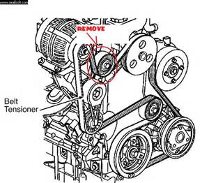 how to replace tensioner pulley 1995 buick riviera how do you get an alternator out from under the hood once