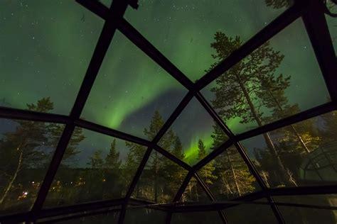 northern lights dome hotel kakslauttanen arctic resort official website