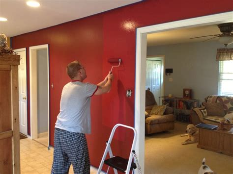 kitchen accent wall ideas cabin red accent walls in kitchen dining room decorating