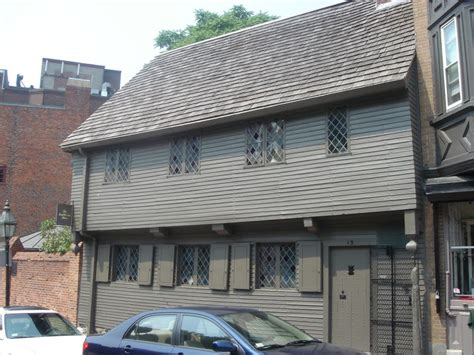 Paul Revere House by Panoramio Photo Of Paul Revere House Boston