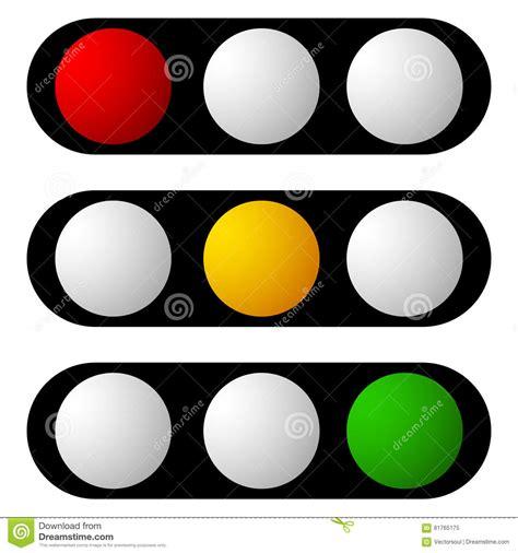 insieme della lada di traffico semaforo icone del
