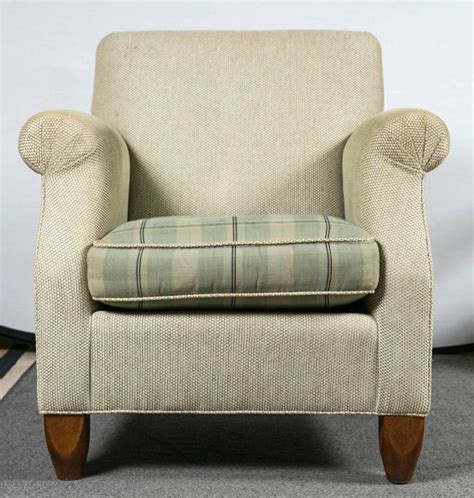 Overstuffed Armchairs by Pair Of Baker Overstuffed Armchairs At 1stdibs