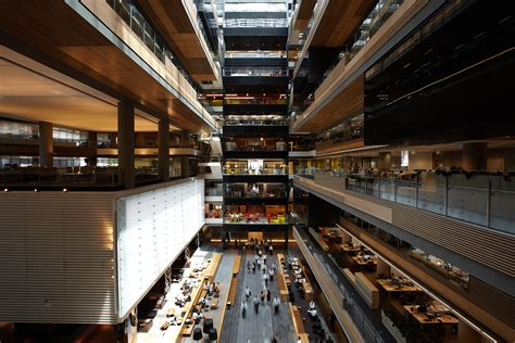 interior building design hassell project anz centre