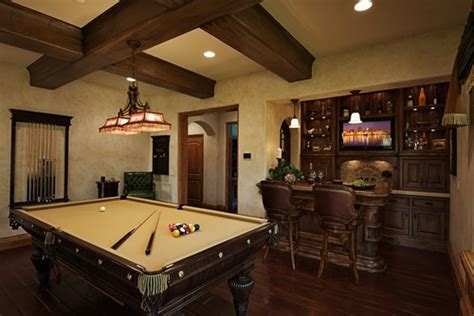 home bar modern living room london 15 homes with amazing pool tables that are anything but an