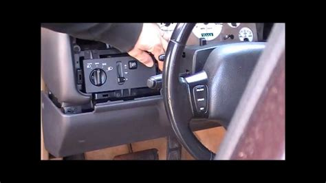 1996 Jeep Grand Instrument Cluster Not Working How To Replace A 1996 Jeep Grand Limited