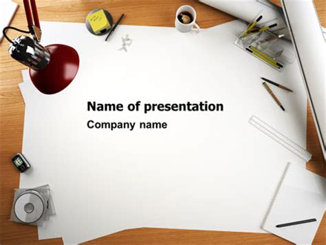 Drawing Board Presentation Template For Powerpoint And Keynote Ppt Star Board Powerpoint Template