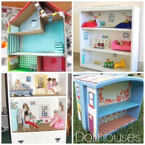 kid craft doll houses 70 homemade toys to make for kids happy hooligans
