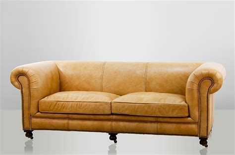 sofa luxus chesterfield luxus echt leder sofa 2 5 seater vintage