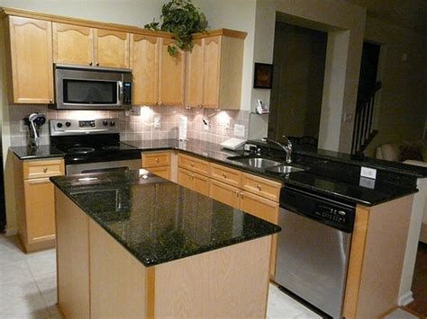 Kitchen Granite Countertops Ideas by Black Granite Kitchen Countertops Ideas Home Interior Design