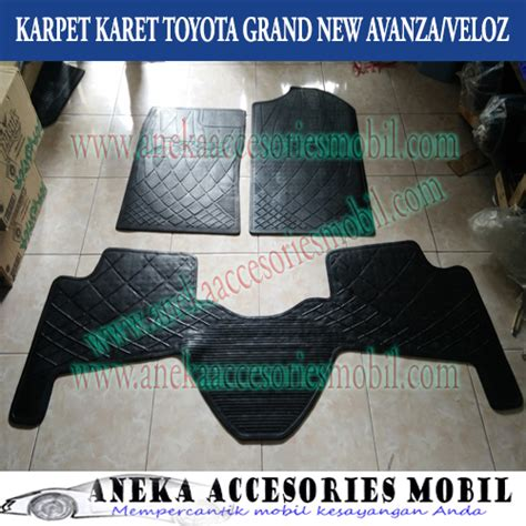 Karpet Dasar Mobil All New Avanza karpet karet toyota grand new avanza veloz karpet lantai