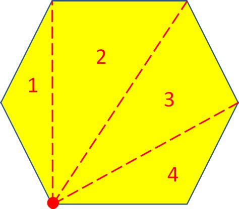 interior angles of regular polygons worksheet from edplace