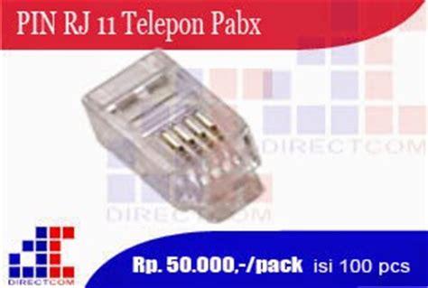 Roset Terminal Telepon Telpon Rj11 2 Lubang daftar harga pabx fax cctv
