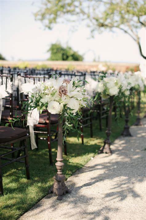 Ceremony Chair Flowers   Elizabeth Anne Designs: The Wedding Blog
